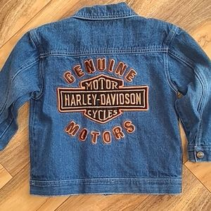 Harley-Davidson denim jacket size 5